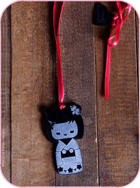 Servane Barrau Kokeshi Necklace
