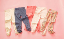 Swanky Baby Vintage Scrunch Leggings - Pep Rally Pink