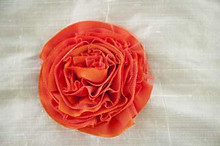 Persnickety Flower Clip - Orange Final Sale