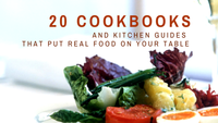 20 Best Cookbooks for Whole, Paleo, Clean, and Fermented Foods Lifestyles