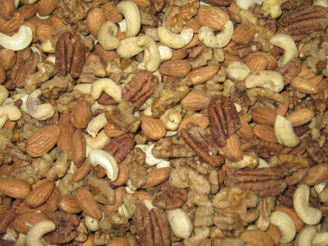 Organic nuts used for soaked nut butter