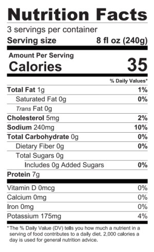 Turkey Broth Nutrition Facts