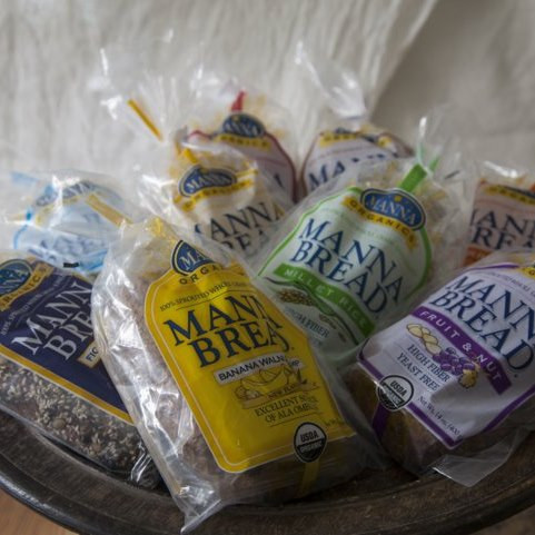 Manna Organics Sprouted Breads