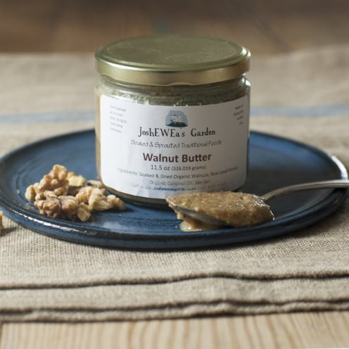 The best nut butter, made from soaked organic nuts.