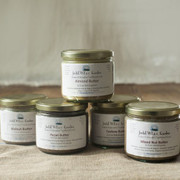 Nut butters with Raw Honey