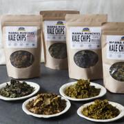 Organic Kale Chips Sampler: 3 bags