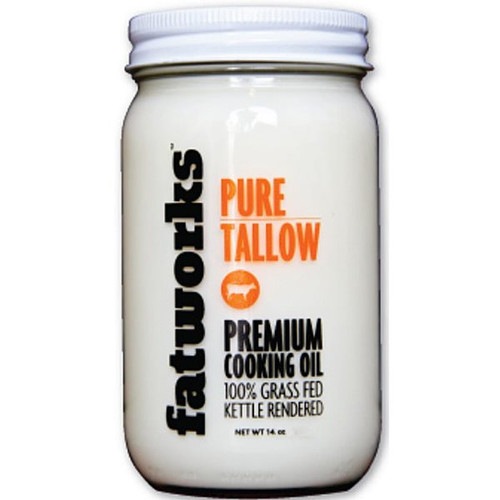 Premium tallow from 100% grass-fed cows