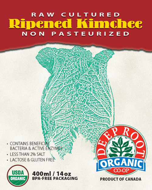 Kimchi - Organic and Unpasteurized