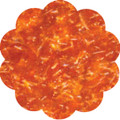 Orange Edible Glitter