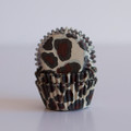 Mini Leopard Cupcake Liners