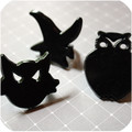 Halloween Silhouette Ring Toppers