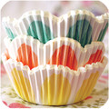 Spring Flower Cupcake Liners