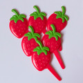 Strawberry Cupcake Picks