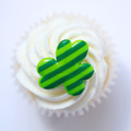 Shamrock Striped Ring Toppers
