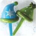 Snow Hat Cupcake Toppers