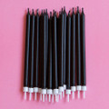 Black Licorice Tapered Candles