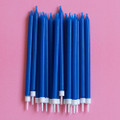 Royal Blue Tapered Candles