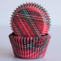 Mary Tartan Designer Baking Cups