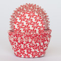 Strawberry Red Pinwheel Cupcake Liners