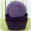 Denim Blue Glassine Cupcake Liners