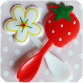 Strawberry Patch Spoon Toppers