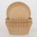 Natural Brown Eco Cupcake Liners
