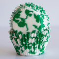 Green Ivy Cupcake Liners