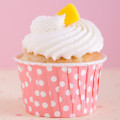 Cotton Candy Pink Polka Dot Nut Cups
