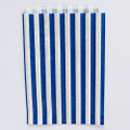 Royal Blue Stripe Candy Bags