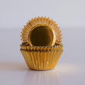 Mini Gold Foil Cupcake Liners