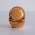 Mini Copper Foil Cupcake Liners