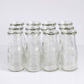 Miniature Glass Milk Bottles