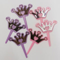 Princess Heart Crown Toppers