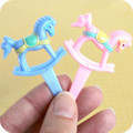 Baby Rocking Horse Cupcake Toppers