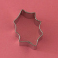 Mini Holly Leaf Cookie Cutter