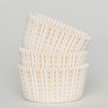 White and Sunshine Yellow Sweet Spot Cupcake Liners