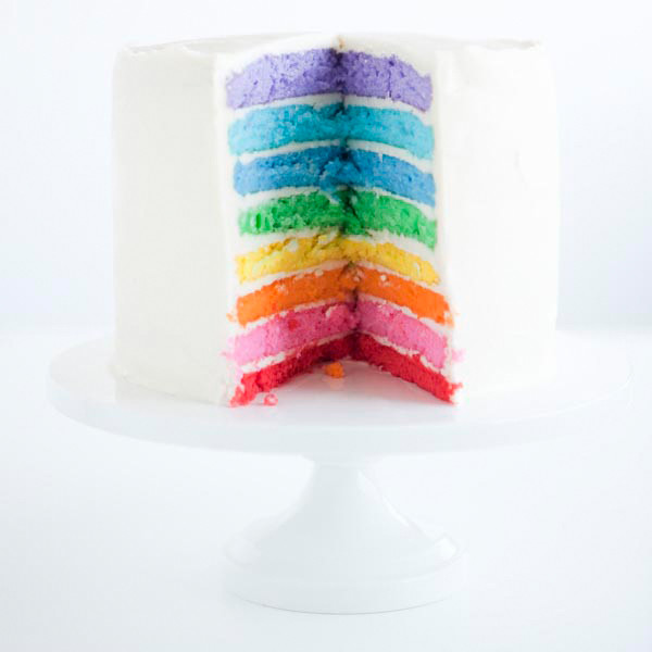 Rainbow Cake Food Coloring Set - Bake It Pretty