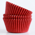 Tomato Red Cupcake Liners