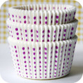 White and Purple Grape Sweet Spot Cupcake Liners