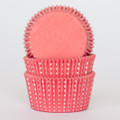 Watermelon Red Sweet Spot Cupcake Liners