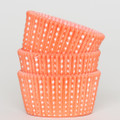 Tangerine Orange Sweet Spot Cupcake Liners