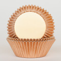 Copper Foil Cupcake Liners