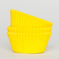 Lemon Yellow Cupcake Liners