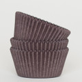 Dark Chocolate Brown Cupcake Liners