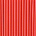 Tangerine Solid Paper Straws