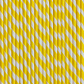 Lemon Yellow Stripe Paper Straws
