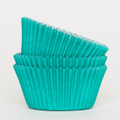 Teal Green Cupcake Liners