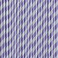 Lilac Stripe Paper Straws