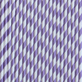 Vintage Purple Stripe Paper Straws