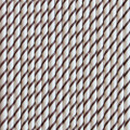 Chocolate Brown Skinny Stripe Paper Straws